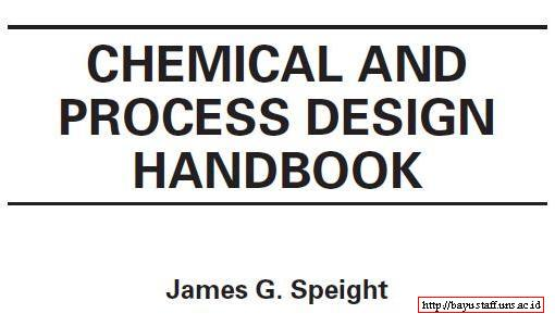 Chemical Process and Design Handbook